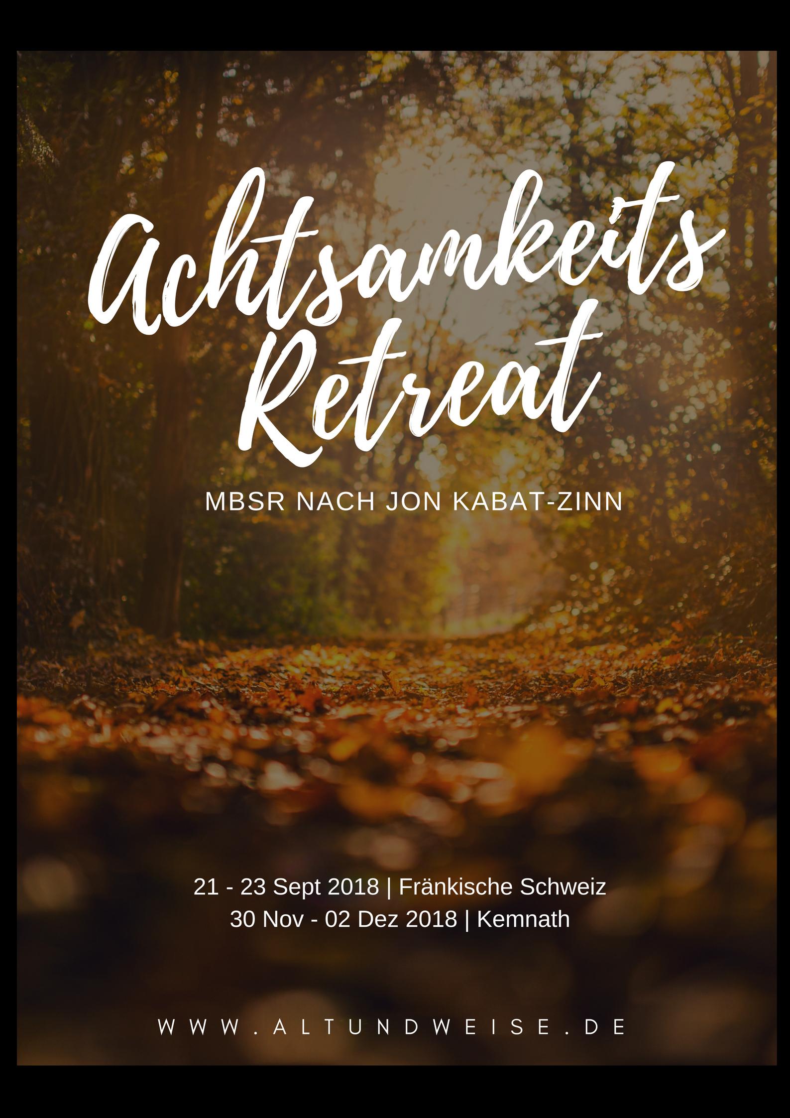 Plakat Retreat